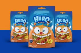 Bao bì ấn tượng kẹo dẻo Huro từ NDH Cosulting