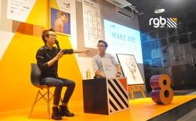 Nhựt Nguyễn (Lài) và buổi trò chuyện cảm xúc giữa phòng tranh Digital Painting