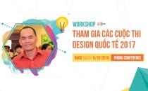 Workshop: Tham gia các cuộc thi Design quốc tế 2017