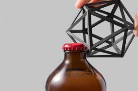 Bottle Opener Ico – Bật nắp chai hình học đầy sáng tạo