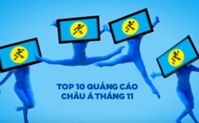 Điện Máy Xanh lọt top 10 Video quảng cáo xem nhiều nhất châu Á tháng 11