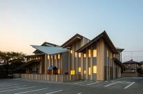 Kengo Kuma – trường mẫu giáo Nhật Bản với thiết kế mái độc đáo