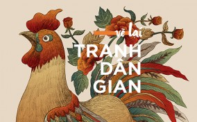 Triển lãm Vẽ lại Tranh dân gian của nghệ sĩ trẻ Xuân Lam