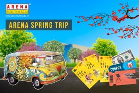 """Tỏa chất đầu năm cùng """"Chuyến Xe Mùa Xuân"""" – Arena Spring Trip"""