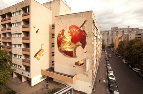 Wes 21 Và Nghệ Thuật Vẽ Tường