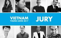 Lộ diện dàn giám khảo quyền lực của Vietnam Young Lions 2017