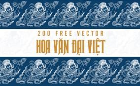 Free 200 Vector Hoa Văn Đại Việt từ Comicola