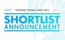 Công bố Top 7 Vietnam Young Lions 2017