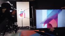 Quá trình LG tạo ra bộ hình nền trên mẫu điện thoại G6