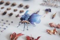 Nghệ nhân Hiroshi Shinno và những con côn trùng làm bằng nhựa và đồng