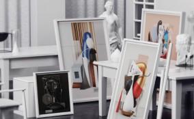 Omar Aqil và những tác phẩm mô tả tranh của Picasso