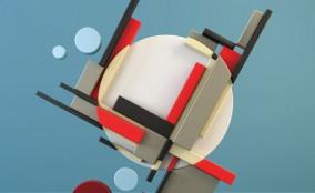 Ấn tượng với Project 3D Rendering & Digital Art theo phong cách Suprematism & Constructivism