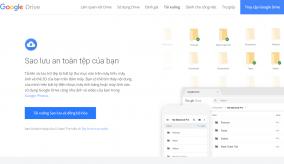 Người sử dụng Google Drive đã có thể sao lưu toàn bộ thư mục có trên máy tính