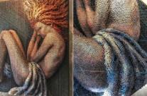 Ấn tượng với tác phẩm được tạo từ hơn 20,000 chiếc đinh ốc