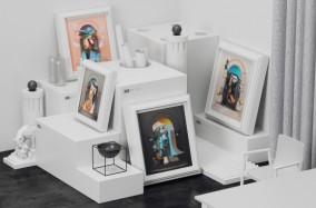 Các tác phẩm 3D đầy cảm hứng từ Omar Aqil