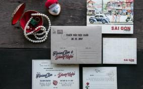 Người Sài Gòn gửi thiệp kiểu Sài Gòn – TraQue Studio