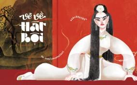 Vẽ Về Hát Bội – Rung cảm nghệ thuật của những họa sĩ trẻ về văn hóa truyền thống