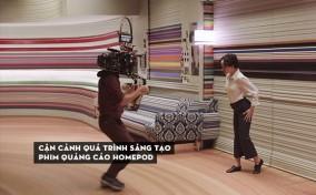 Cận cảnh quá trình sáng tạo phim quảng cáo HomePod của đạo diễn Spike Jonze