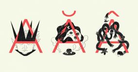 """[Student Showcase] – """"Không gian âm"""", bài thiết kế môn Typography đầy độc đáo của Nguyễn Minh Tuấn"""