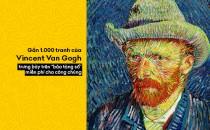 """Bảo tàng Van Gogh """"số hóa"""" gần 1.000 bức tranh và bản vẽ để công chúng thưởng lãm miễn phí"""