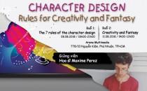 Khóa học chuyên sâu: Quy tắc sáng tạo trong Thiết kế Nhân vật Games (8/8 & 11/8/2018)