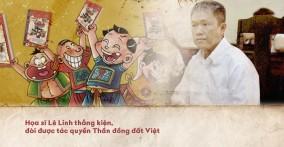 Vụ kiện tác quyền 12 năm – Họa sĩ Lê Linh thắng kiện, là tác giả duy nhất của Thần đồng đất Việt