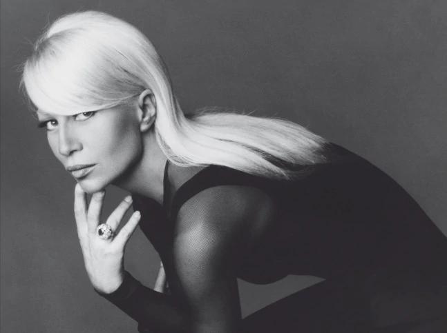 Nhà thiết kế thời trang Donatella Versace