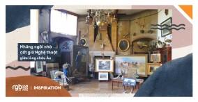 Những ngôi nhà cất giữ Nghệ thuật giữa lòng châu Âu
