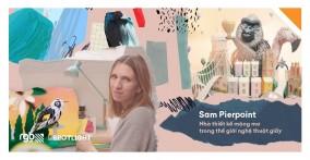 Sam Pierpoint – nhà thiết kế mộng mơ trong thế giới của nghệ thuật cắt giấy