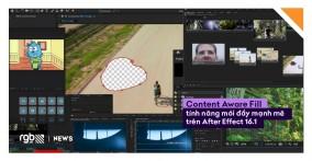 After Effects cập nhật tính năng Content Aware Fill đầy mạnh mẽ cho video