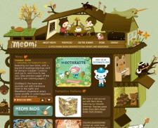 30 mẫu website đẹp sử dụng hình Vector làm hình nền minh họa