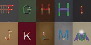 """Cảm hứng typography: dự án """"Helvertica is my hero"""" của René Mambembé"""