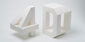 Cảm hứng Typography: Dự án 4D Type của Lo Siento Studio