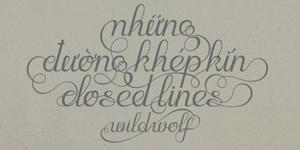 Cảm hứng Typography: Dự án Những đường khép kín