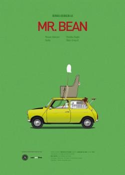 Poster tối giản: Xe & Phim