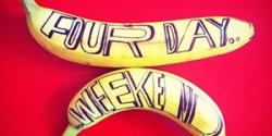 Cảm hứng typography: Dự án Banana Drawings