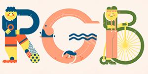Cảm hứng typography: Dự án Alphabets