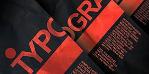 Cảm hứng Typography: Typographic Poster