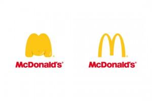 Khi logo các hãng thức ăn nhanh đồng loạt giảm cân