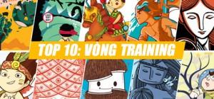 Top 10 sẵn sàng cho vòng Training cuộc thi thiết kế Áo thun Cổ tích Việt Nam 2013