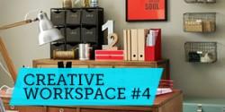 Góc làm việc sáng tạo #4: Cảm hứng từ góc làm việc nhiều đồ đạc