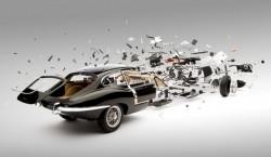 """Bộ ảnh """"Exploded Car"""" đầy ấn tượng của Fabian Oefner"""