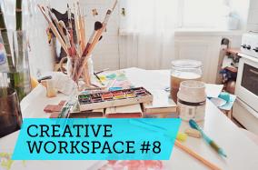 """Góc làm việc sáng tạo #8: Cảm hứng từ những góc làm việc dành cho """"phái yếu"""""""