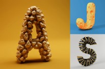 Cảm hứng từ những chữ cái 3D của FOREAL STUDIO