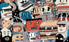 Thế giới Illustration đầy màu sắc của Frenemy