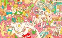 Illustration vui tươi & đầy màu sắc của Brosmind