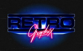 Bộ logo đậm chất Retro của thập niên 80 từ Alessandro Strickner