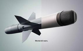 """""""Words kill wars"""" – Dự án đấu tranh vì hòa bình của tổ chức Adot.com"""