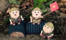 Mô hình giấy Quân Đội Việt Nam cực ấn tượng
