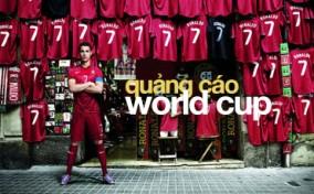 Quảng cáo triệu người xem của các thương hiệu mùa World Cup 2014